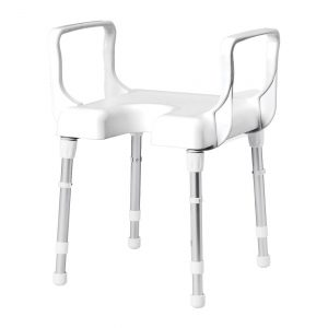 Rebotec-Cannes-Shower-Stool-With-Arms