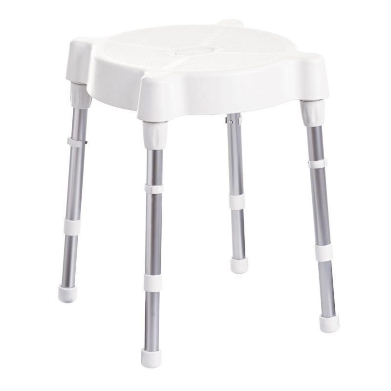 Rebotec-Verona-Round-Shower-Stool