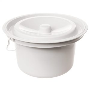 Rebotec_commode_pail_bucket_grey_closed